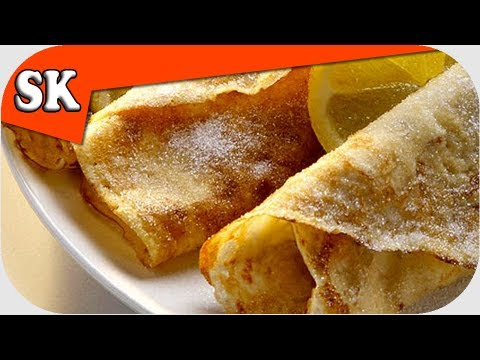 PANCAKE RECIPE - English Style - Are you a Tosser - No Baking Powder