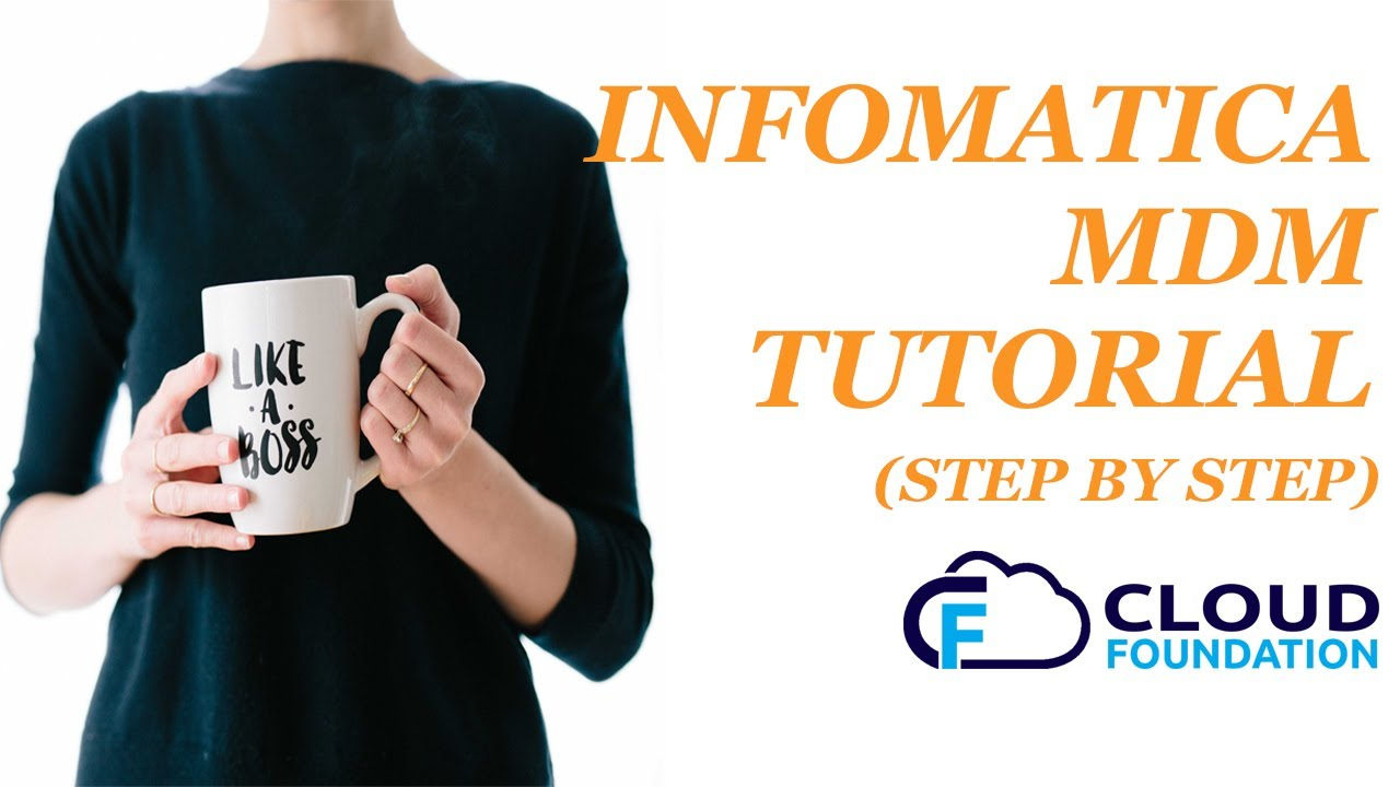 Informatica MDM Training - The only Master Data Management Course