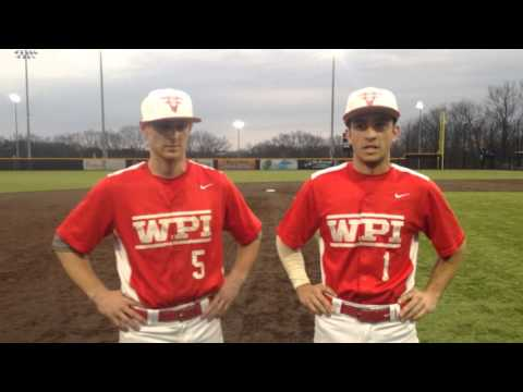 WPI Baseball Post-Game Interview - Nick Comei and Vinny D'Ambrosio