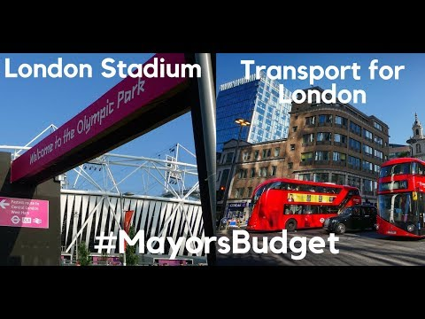 Assembly Budget Committee - Mayor's Budget 2018-19 - the LLDC and TfL