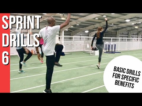 SPRINT DRILLS 6 Basic Drills for technique and specific condition