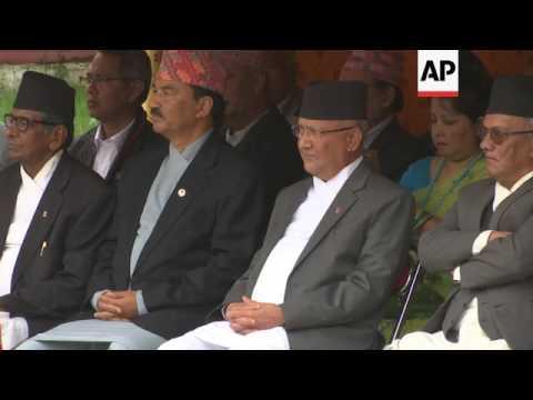 New Nepali prime minister sworn in