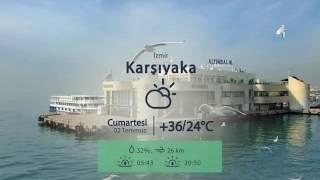 02 Temmuz İzmir Hava Durumu