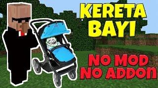 Cara Buat Kereta Bayi di Mcpe No Mod - Tutorial