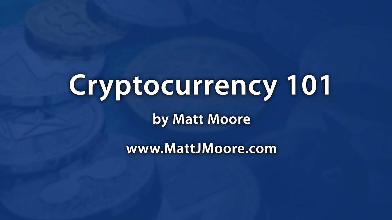 Cryptocurrency 101 Presentation - What Is Crypto?