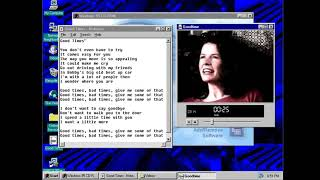 The song in Windows 95 OSR2 installation CD - Good Times - Edie Brickell