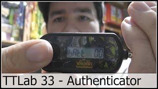 "Tinkertubes Lab [33] Destructive battery change of blizzard WOW authenticator ""batt 00"""