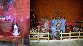 Christmas Tree And Nativity Scene Decoration!!! |  Land Of Everything