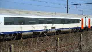 3 treinen in Schellebelle