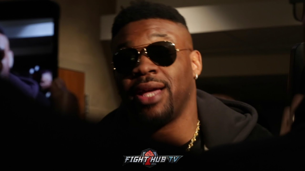 JARRELL MILLER ASKED IF TYSON FURY KNOCKED HIM DOWN 7 TIMES IN SPARRING - GIVES PRICELESS REACTION