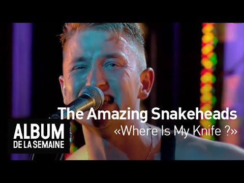 The Amazing Snakeheads - Where Is My Knife ? - Album de la Semaine
