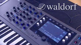 Waldorf Quantum - синтезатор (Superbooth 2017)
