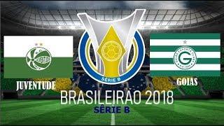 Futebol ao vivo: / Série B /  Juventude x Goiás