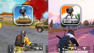 PUBG Mobile vs Battlegrounds Mobile India    Quick Comparison    PUBG vs BGMI    PK screenshot 5
