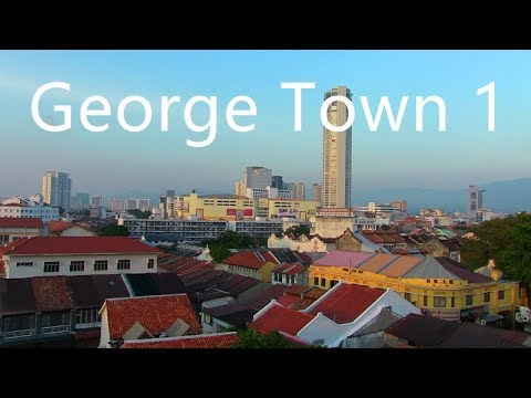 George Town First Walk, Penang Malaysia