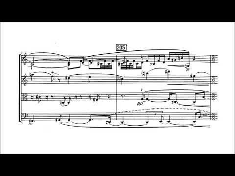 Elliott Carter - String Quartet No. 2
