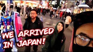 We Arrived in Japan!