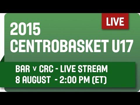 Barbados v Costa Rica - Group 17 - 2015 Centrobasket U17 Championship