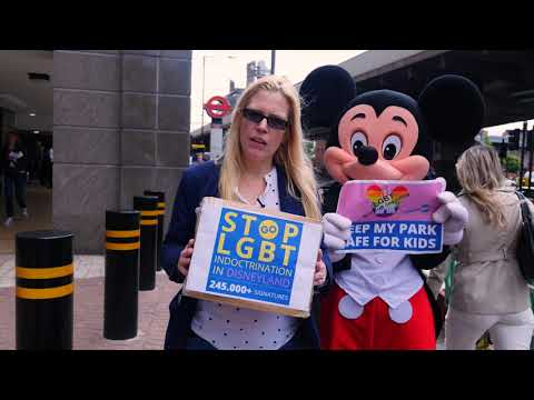 Disneyland's London HQ Refuses Petition Protesting The First Gay Pride Parade In Paris