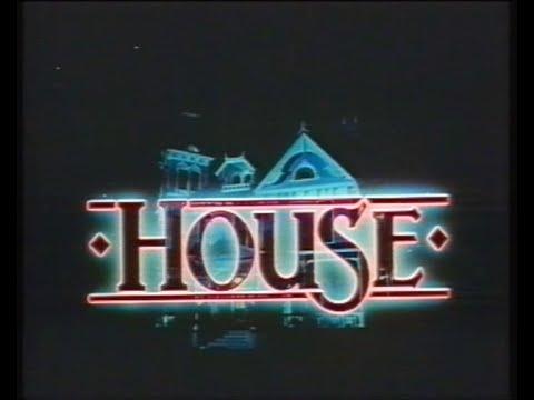 William Katt & Kay Lenz in HOUSE   1986, German v. Steve Miner