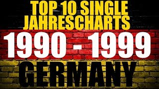 German/Deutsche Top 10 Single Jahres-Charts | 1990 - 1999 | Year-End Charts | ChartExpress