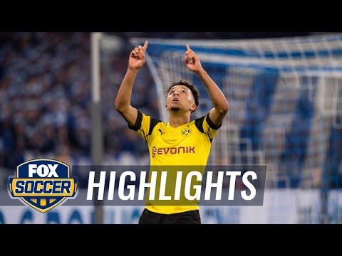 Jadon Sancho gives Borussia Dortmund the win vs. Schalke 04   2018-19 Bundesliga Highlights Mp3