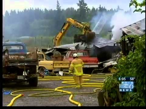 Classic Cars Destroyed In Barn Fire Youtube