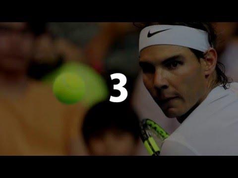 IPTL 2015 : Nadal Best Points TOP 20 HD - International Premier Tennis League