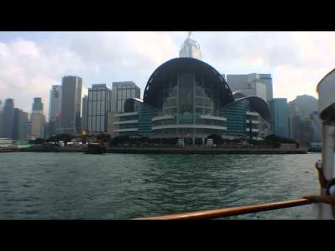 Star Ferry crusing the Victoria Harbour