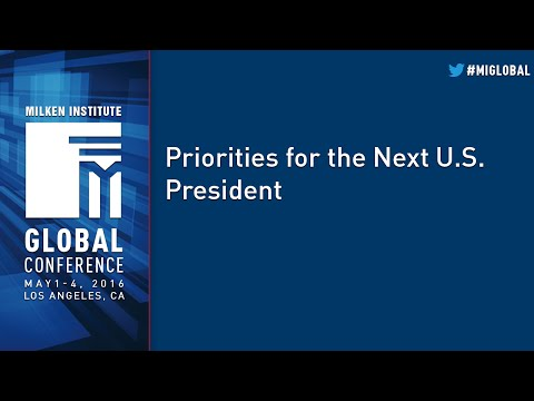 Priorities for the Next U.S. President