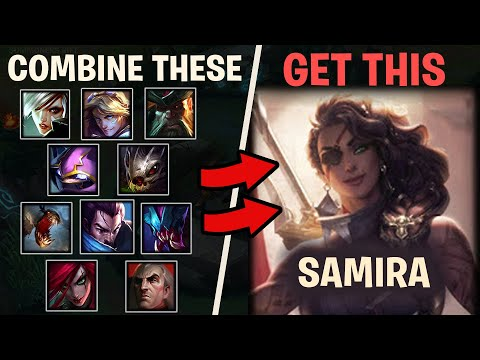 Here's Why Riots New Champ, SAMIRA, is just a combination of 10 other Champions in League of Legends
