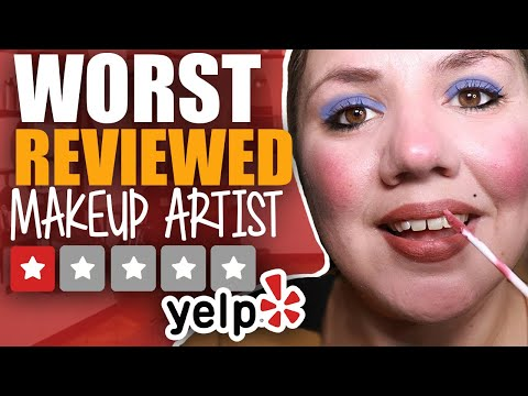 I WENT TO THE WORST REVIEWED MAKEUP ARTIST IN MY CITY 💄 ASMR 💄 Soft Talk