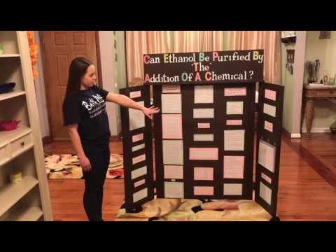 Can Ethanol Be Purified By the Addition of a Chemical?  Natalie Wilson