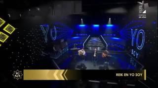 """Video Reik - Ya me enteré en vivo """"Yo Soy"""" download MP3, 3GP, MP4, WEBM, AVI, FLV November 2017"""