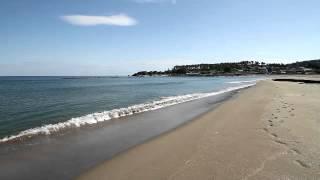青森県 種差海岸 白浜海水浴場