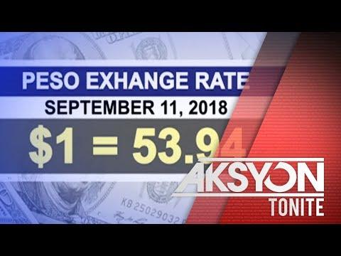 Peso-Dollar Exchange Rate, Lalong Humina