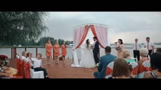 Выездная регистрация брака в Москве, свадебная церемония.