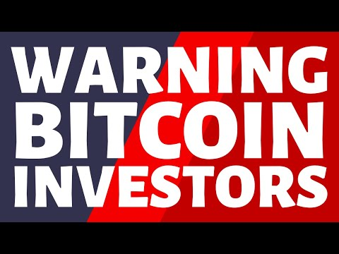 URGENT Message To ALL Bitcoin Investors This Video Is A MUST Watch!