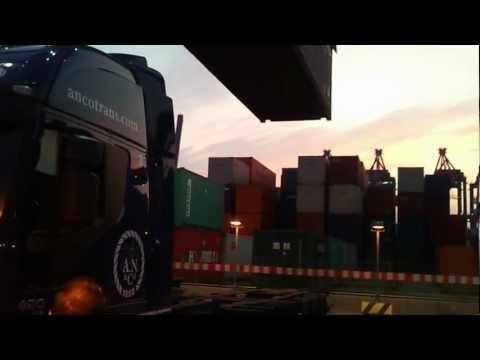 Transport containere Hamburg CTA