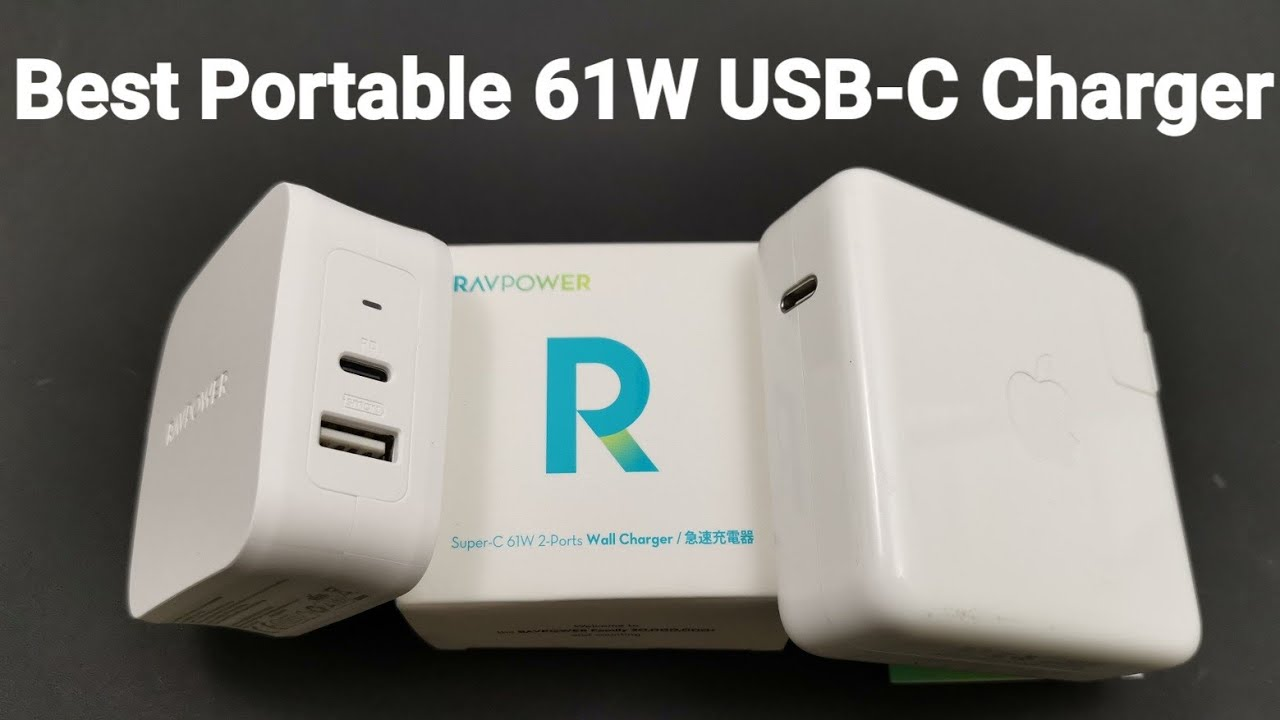 Best USB-C Fast Charger, RAVPower 61W PD Type C PD 3 0 Power