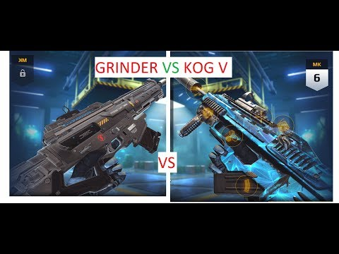 KOG V vs GRINDER,T9 PRESTIGE,WHICH ONE IS BETTER ? IS KOG V NERFED AFTER UPDATE XVI