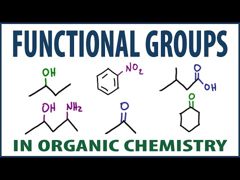 Organic Chemistry Functional Groups - How to Understand and