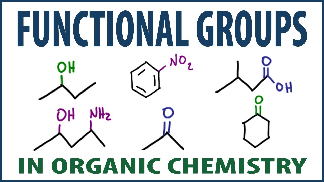 Organic Chemistry Functional Groups - How to Understand and Memorize  Functional Groups