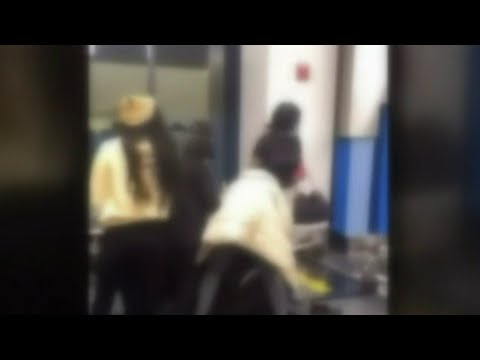 Brawl Erupts At Detroit Airport Gate After Spirit Airlines Agent Question Size Of Carry-On Luggage