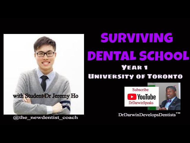 How to Survive D1 Year of Dental School with Study Tips for