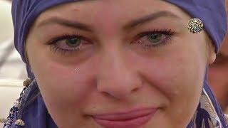 Kelime-i şehadet getirirken döktüğü gözyaşlarıyla Müslüman oldu Video
