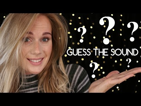 ASMR GUESS THE SOUND ( SOFT SPOKEN WHISPER EAR TO EAR) TRIGGERS FOR SLEEP