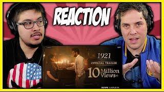 1921 Official Trailer Reaction Video   Vikram Bhatt   Zareen Khan   Discussion   Review