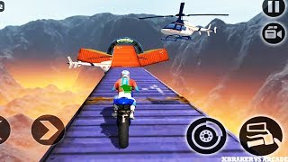 Impossible Motor Bike Tracks: Motors Game Stunts Levels 1 to 8 - Android GamePlay FHD