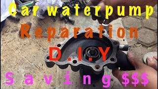 Rebuilding/repairing engine water pump  DIY style (Part 3 of 4)
